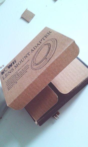 Raspberry Pi cardboarda case