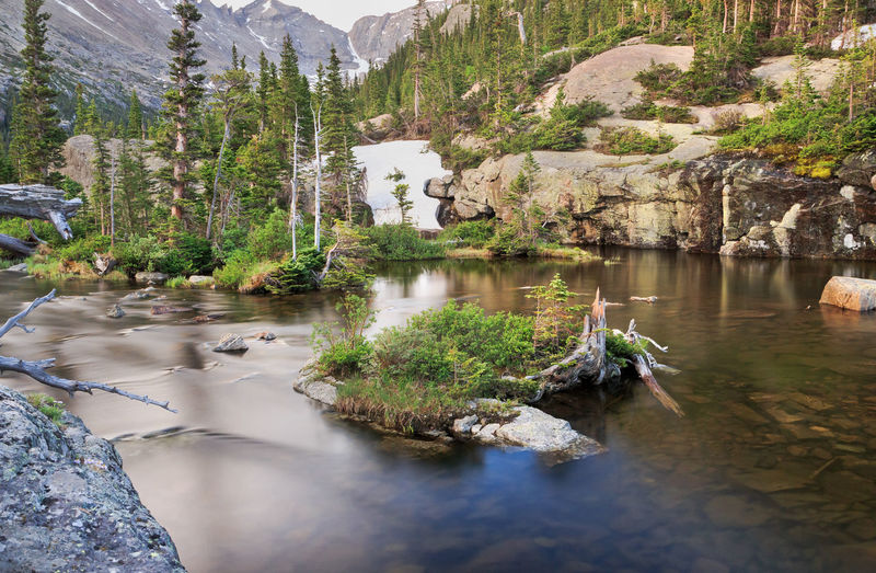 Beauty In Nature Blurred Motion Long Exposure Mills Lake Mountain Nature Outdoors Rocky Mountain National Park Scenics Water