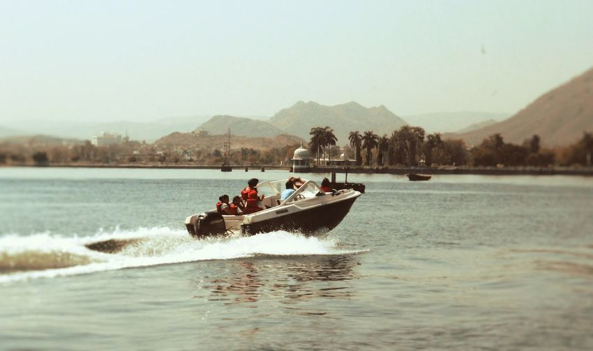 Speed!!! Lakes And Mountains Speedboat An Eye For Travel