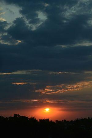 Sunset Sky Skyonfire