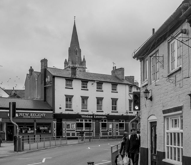 Church of Saint Thomas view, Rugby, Warwickshire Monochrome Warwickshire Rugbytown FUJIFILM X-T10 Rugby Black And White Architecture Church