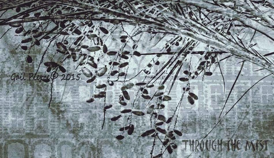 Arras, France, Through the Mist. France Digital Expression, Distressed, Sketch