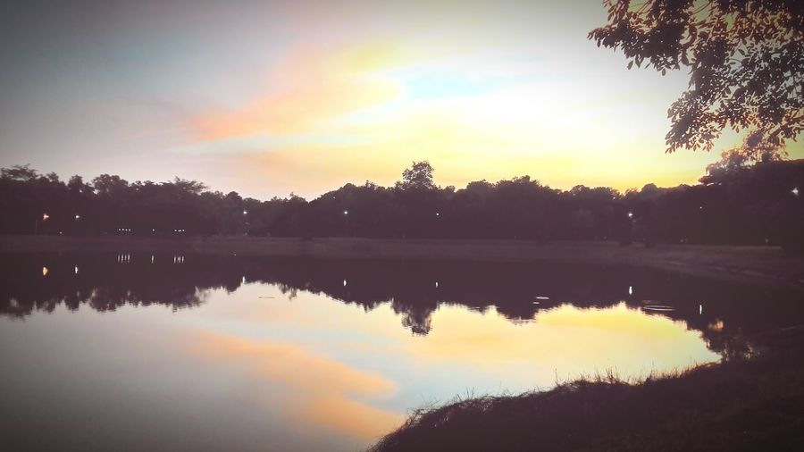 Water Reflections Landscape Sunset