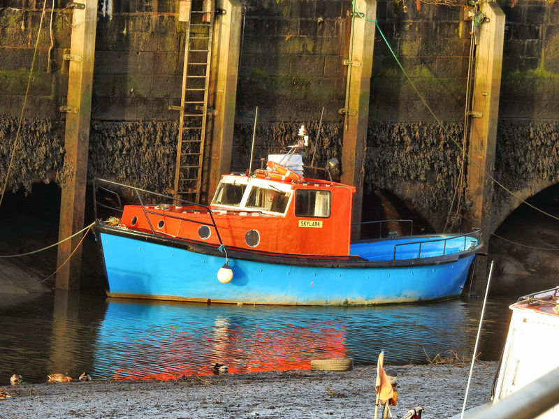 Architecture Boats Day Nautical Vessel Newcastle Upon Tyne No People Outdoors River Tyne, Water