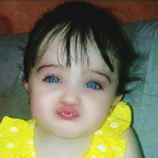 I am sure who ever will see this picture will fall in love with the little angel Check This Out Blueeyes #allsmiles #fwm Hello World Babies ♥♥♥ Cute Love ♥ First Eyeem Photo