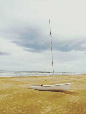 Sea Sand Beach Storm Boat Montesilvano Pescara Abruzzo