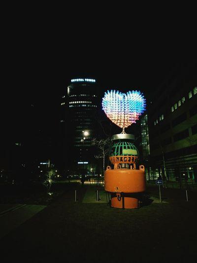 Station Art Heart ❤ Love Flag