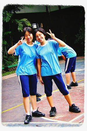 Asian Girl SMA Trinitas School Uniform Check This Out
