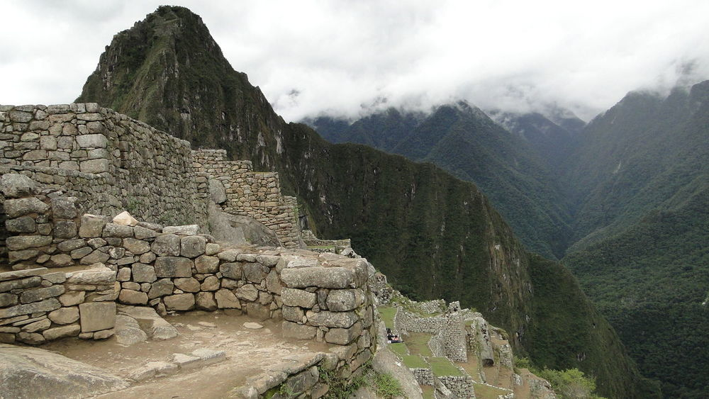 From My Point Of View Landscapes The Purist (no Edit, No Filter) Macchu Picchu Popular Photos Mountain Walking Around Travel Peru Travel Destinations EyeEm Best Shots Tourism Mountain Range The Week Of Eyeem No People Eye4photography  Landscape Taking Photos Outdoors Steps Tranquil Scene Famous Place