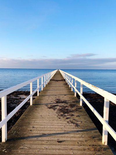 EyeEmNewHere EyeEm Best Shots EyeEm Nature Lover EyeEm Selects Bridge Malmö Sea Water Sky The Way Forward Tranquil Scene Scenics - Nature Horizon Direction Beach Land Nature Outdoors