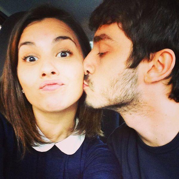 Lovehim Loveyou Us Smorfie kiss happy me us amazing fun