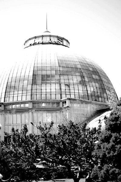 Architecture Dome Sky Outdoors Belle Isle Detroit Building Exterior Architecture Overexposed Black And White