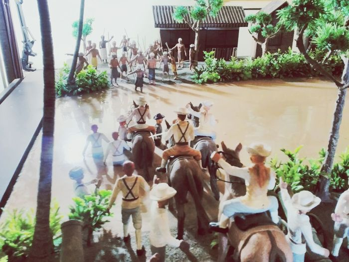 The batavai end diorama Maseum jakarta Sejarah Diorama