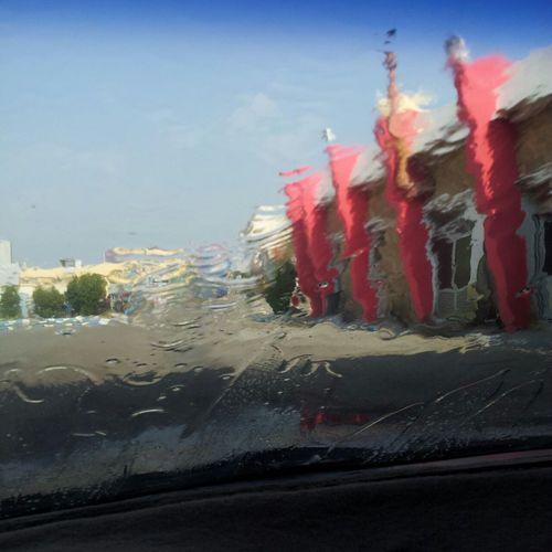 الحلو في المغاسل السيارات انك اتكون داخل السيارة اتحس كأنك قاعد تاخذ دووووش من المياه الباردة