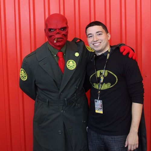 Me and RedSkull Hailhydra