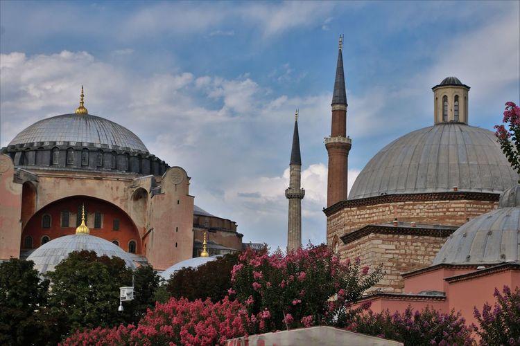 Arhitecture City Life Hagia Sophia, Church, Mosque, Sultan Ahmet Turkey City Of Istanbul Instambul