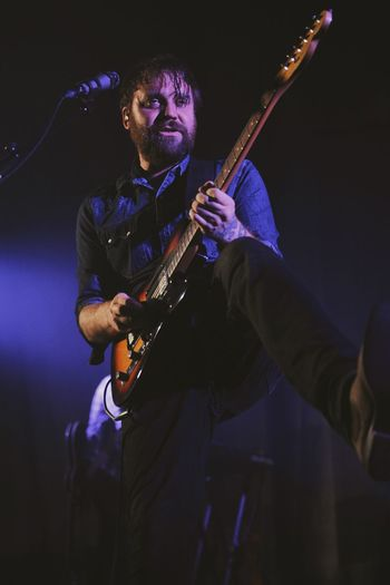 Frightened Rabbit live in London Music Stage - Performance Space Music Concert Photography Concert Music Photography  Musician