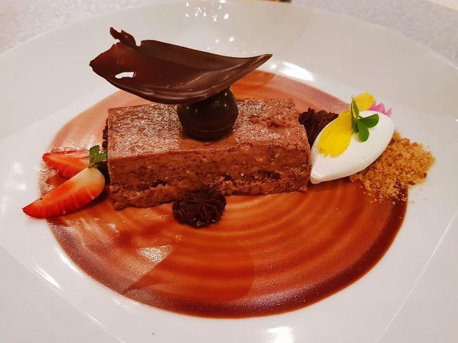 Choco Sweet Westin Grand Hotel Dessert Chocolate Cake Close-up Sweet Food