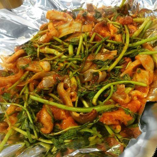 군산오징어에서 일상 군산오징어 오삼불고기 맛점 food 음식