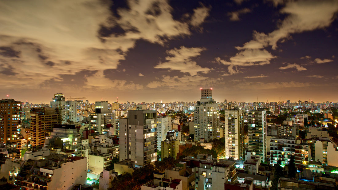 Argentina, Buenos Aires: city view Dramatic Sky Dramatic Cloud Architecture Buenos Aires City Views Building Building Exterior Built Structure City City Lights Cityscape Cloud - Sky Convergent High Angle View Horizon Illuminated Night Office Building Exterior Outdoors Repetition Residential District Sky Skyscraper Urban Skyline EyeEmNewHere The Architect - 2018 EyeEm Awards