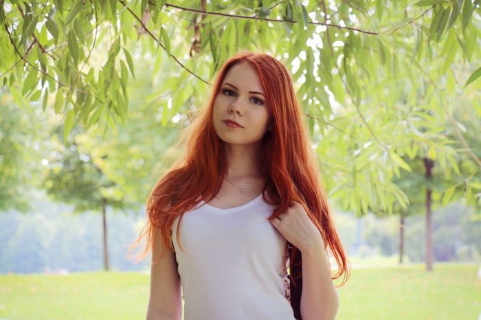 рыжая русская Russian Girl Girl Young Women Young And Beautiful