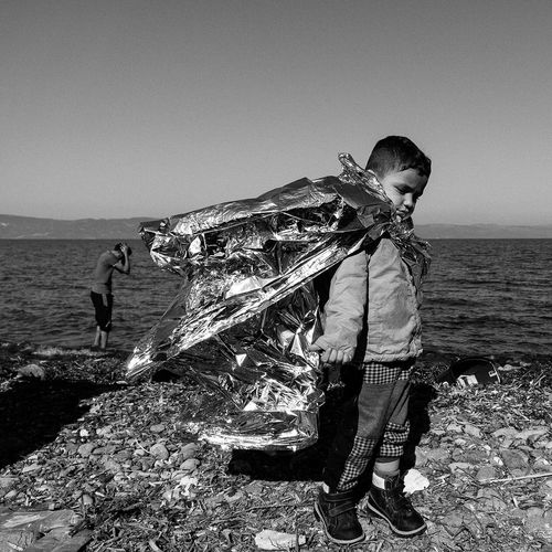 Lesbos Greece Refugees