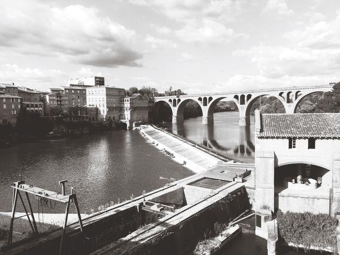 Water Sky Cloud - Sky Bridge River Outdoors City Cityscape Connection