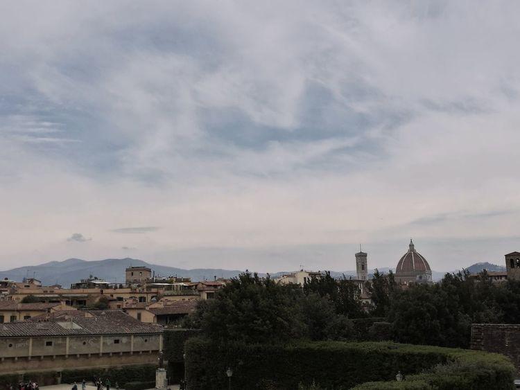 Firenze Florence Italy Nofilter Skyline Cupola Giotto Garden Boboli Garden Architecture Cityscape