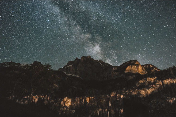 Milky Way over mountains Astronomy Beauty In Nature Constellation Dark EyeEm Best Shots EyeEm Nature Lover Galaxy Landscape Landscape_photography Milky Way Mountain Nature Night Night Photography No People Outdoors Scenics Sky Space Space And Astronomy Star - Space Star Field Tree