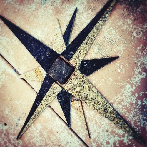 Compass Rose  Stone Stone Compass