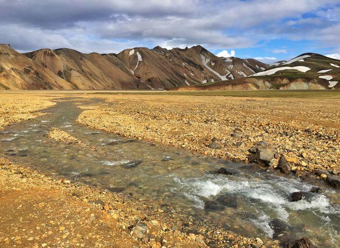 Flow Landscape Landscape_Collection Landscape_photography Mountains Iphonephotography IPhoneography Iceland EyeEm Best Shots - Landscape River