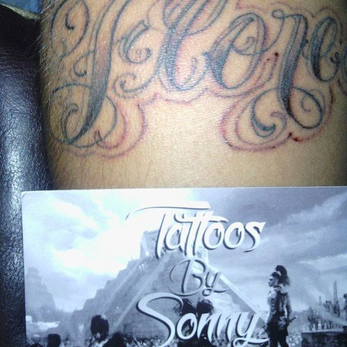 Tattoos by Sonny Now sponsored by csld Check. Him out Csls Skylimits Centralskylimits Sonnyvasquez