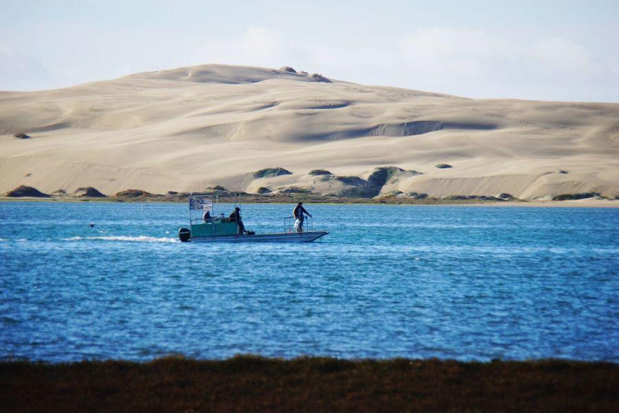 Morro Bay Sand Dune Boat