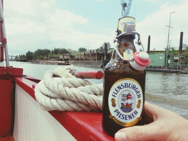 Prost. Hafenrundfahrt Flens I'm On A Boat