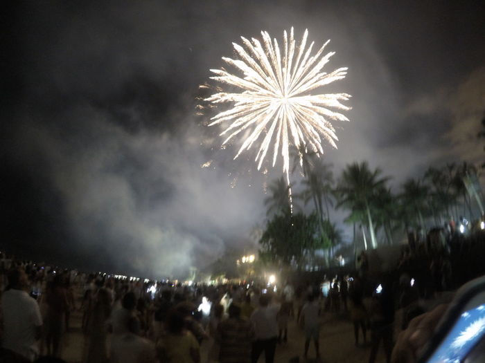 Arts Culture And Entertainment Celebration Event Exploding Firework Firework - Man Made Object Firework Display Gopro Illuminated Long Exposure Low Angle View Motion Night No People Outdoors Sky Smoke - Physical Structure