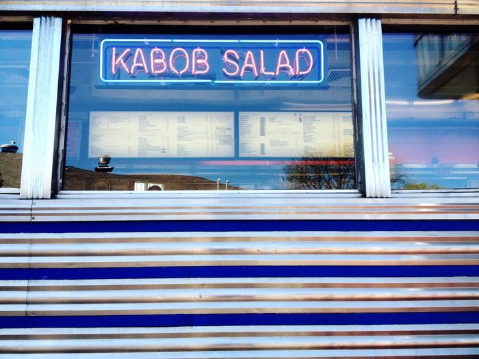Restaurant Food Urban Urban Geometry Signs City Diner