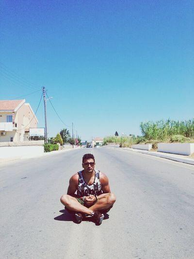 Man Handsome Boy Crete Greece