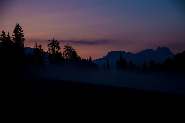 EyeEm Best Shots EyeEm Nature Lover The Week On EyeEm Beauty In Nature Day Fog Foggy Morning Landscape Mountain Nature No People Outdoors Scenics Silhouette Sky Sunrise Tranquil Scene Tranquility Tree
