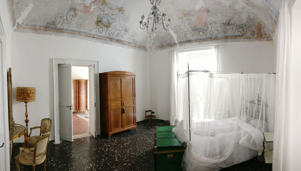 Indoors  Home Interior Bedroom Curtain Window No People Old Room  Pirate Ancient Sicily Catania