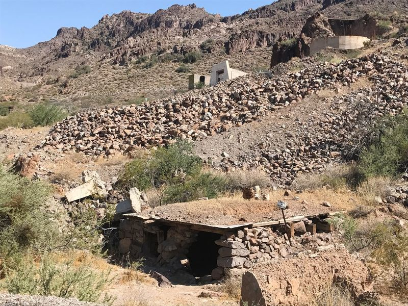 Rock - Object Mountain Built Structure House Building Exterior Day No People Architecture History Nature Outdoors Sunlight Arid Climate Mountain Range Desert Landscape Beauty In Nature Ancient Civilization Mining History Of America Abandoned Buildings Abandoned Mining Heritage