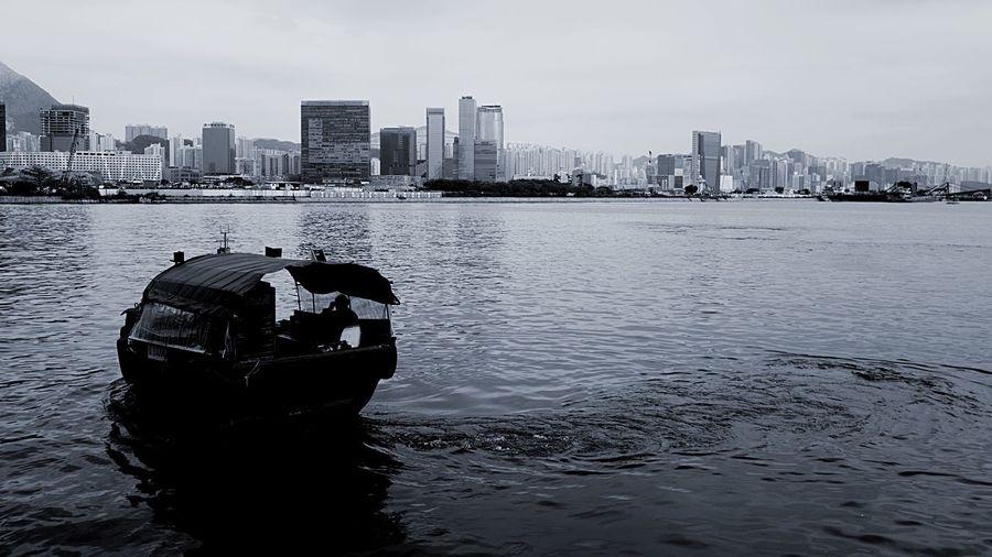 afternoon someday HongKong Discoverhongkong Leica Leicaq Afternoon Ferry Boart Harbour Chrome Blackandwhite EyeEmBestPics EyeEmBestEdits EyeEmbestshots EyeEm Gallery EyeEm Best Edits Tokwawan