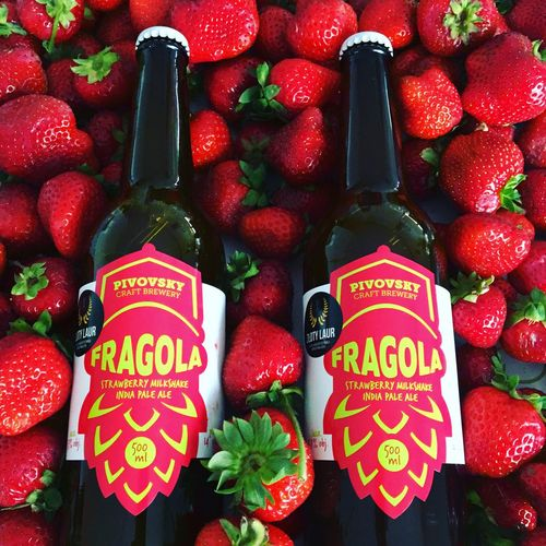 Fragole,strawberries Beer Built Structure Fragola🍓🍓🍓🍓 Text Communication No People Still Life Western Script Red Food And Drink