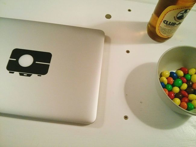 Less people in the Office , more M&m's for us ^^ Little Break .