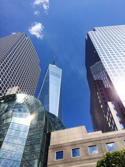 NYC Freedom Tower Le District View