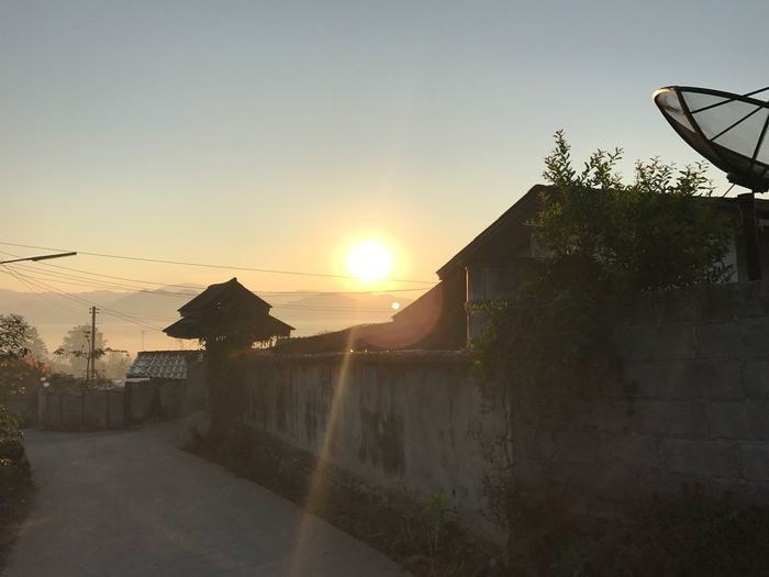 Miles Away Chinese Village Pai Maehongson Thailand Sunrise Sunrise_Collection Mist Misty Morning