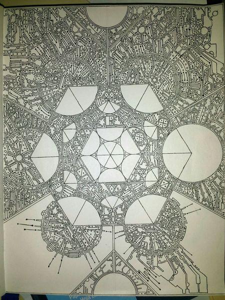 Very slow progress. Drawing Art Design