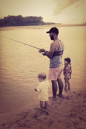 Fishing With Uncle Baxy