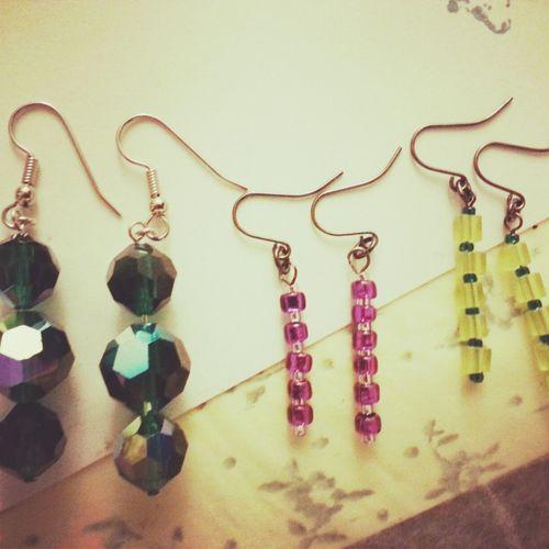 Beading Jewelry Making Earrings Twocatsartifacts