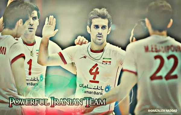 Iran Volleyball❤ SPAIN Fivb world league finals volleyball - florence 2014
