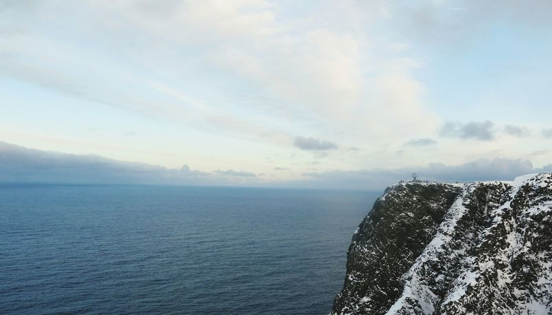 North cape Northcape Sea Water Beauty In Nature No People Noway Antarctica Outdoors Wintertime